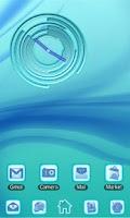 Screenshot of Blue Chill Clock