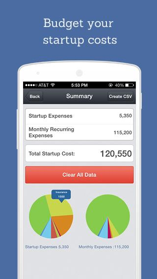 Valuation App - screenshot