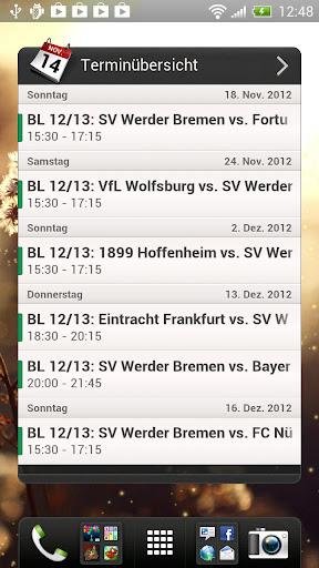 【免費運動App】Unofficial Werder Bremen Widg.-APP點子
