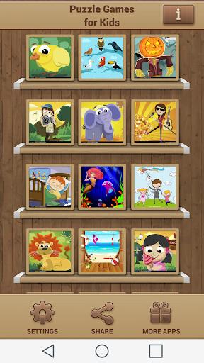 益智游戏 儿童拼图