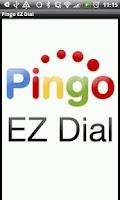 Screenshot of Pingo EZDial