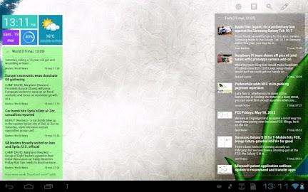 Scrollable News Widget Screenshot 8