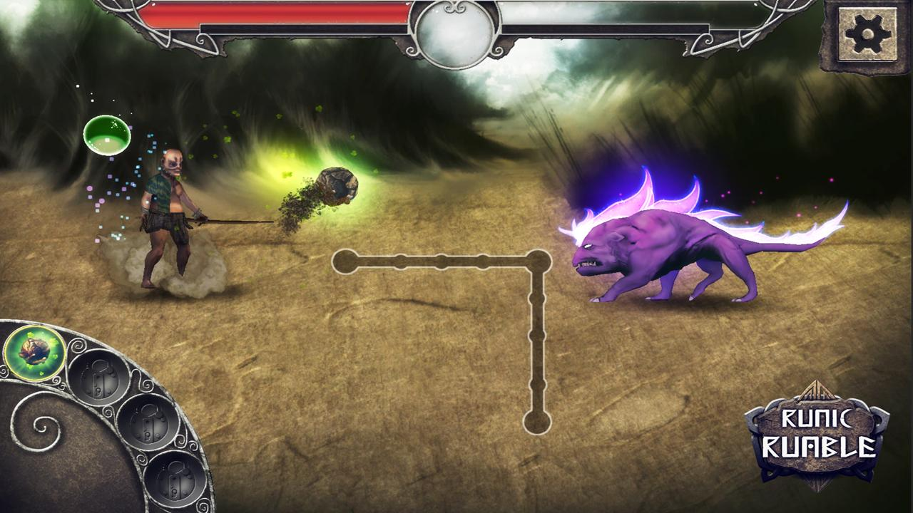 Runic Rumble- screenshot