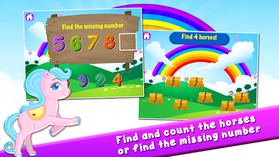 Pony Learns Preschool Math- screenshot thumbnail