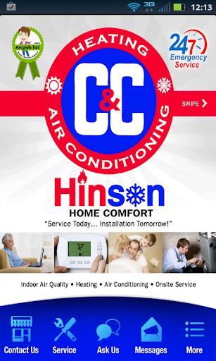 C C HVAC; Hinson Home Comfort