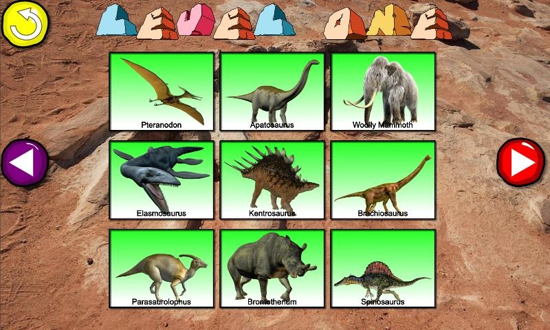 Connect The Dots Dinosaurs HD - screenshot