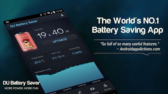 DU Battery Saver PRO & Widgets - screenshot thumbnail