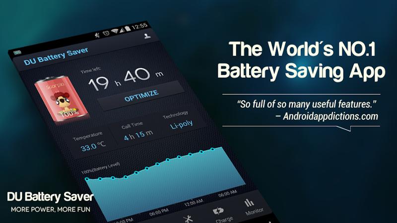 DU Battery Saver PRO & Widgets Screenshot 6