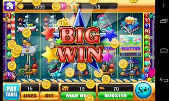 Screenshot of Slots - Underground Racing