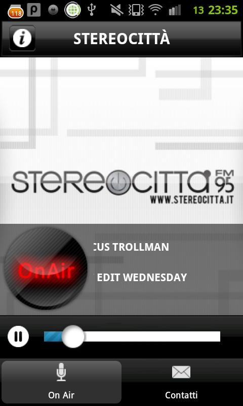 Radio STEREOCITTA'- screenshot