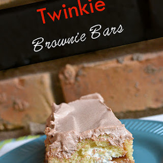 TWINKIE BROWNIE BARS