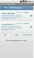 Screenshot of GFI Sourcing