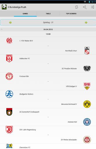 3 Bundesliga Push