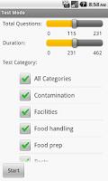 Screenshot of Food Safety Exam Prep