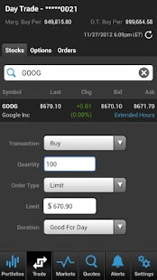 TradeKing® Mobile Investing- screenshot thumbnail