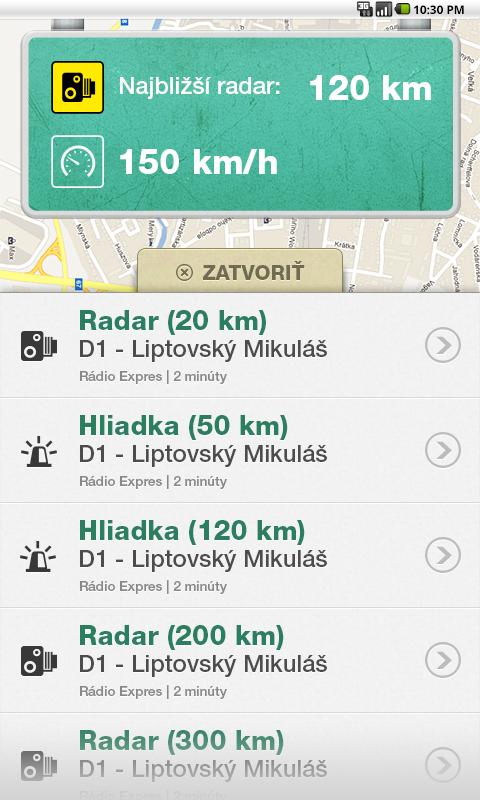 Pozor RADAR!!! - screenshot