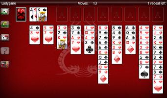 Screenshot of Solitaire World Free