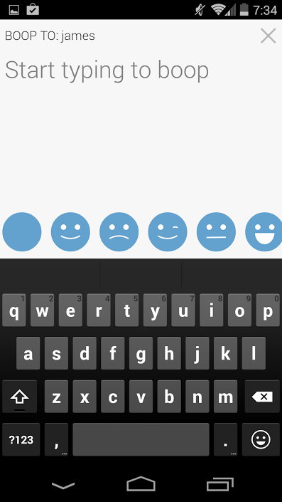 Boop - screenshot