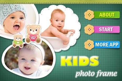 KIDS PHOTO FRAME - BABY CAMERA