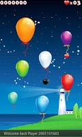 Screenshot of Tap The Balloons
