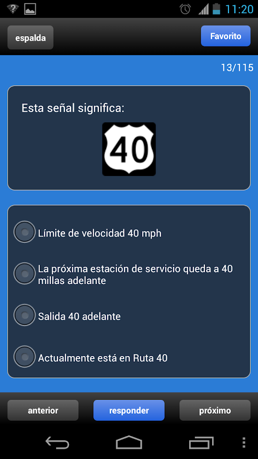 US DMV Driving Tests - screenshot