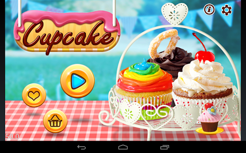 Cupcake Cooking Game