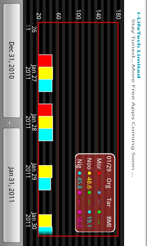 Weight Tracker Pro - screenshot