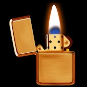 Gold Lighter Fire Wallpaper