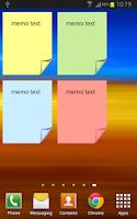 Screenshot of Simple Memo
