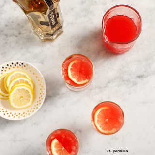 Watermelon St. Germain Cocktails.