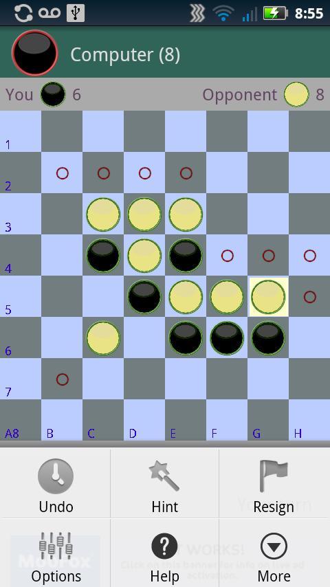 Reversi strategy video