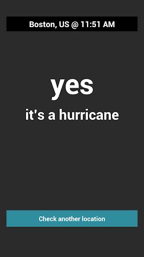 Is It Hurricane