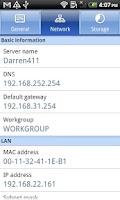 Screenshot of DS finder