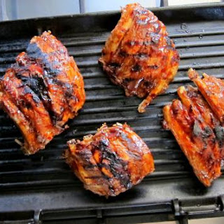 Pressure Cooked Tandoori BBQ Pork Ribs