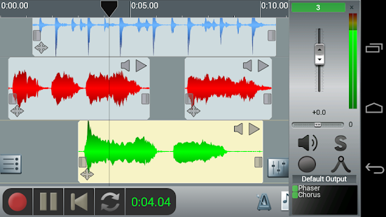 n-Track Studio Multitrack Daw - screenshot thumbnail