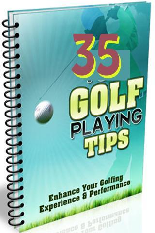 Best 35 Golf Tips Ebook