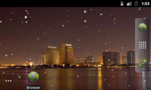 Snowing City LWP