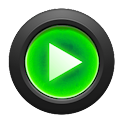 Mad Jelly Green Poweramp Skin icon