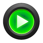 Mad Jelly Green Poweramp Skin v1.4.1