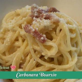 Carbonara Boursin
