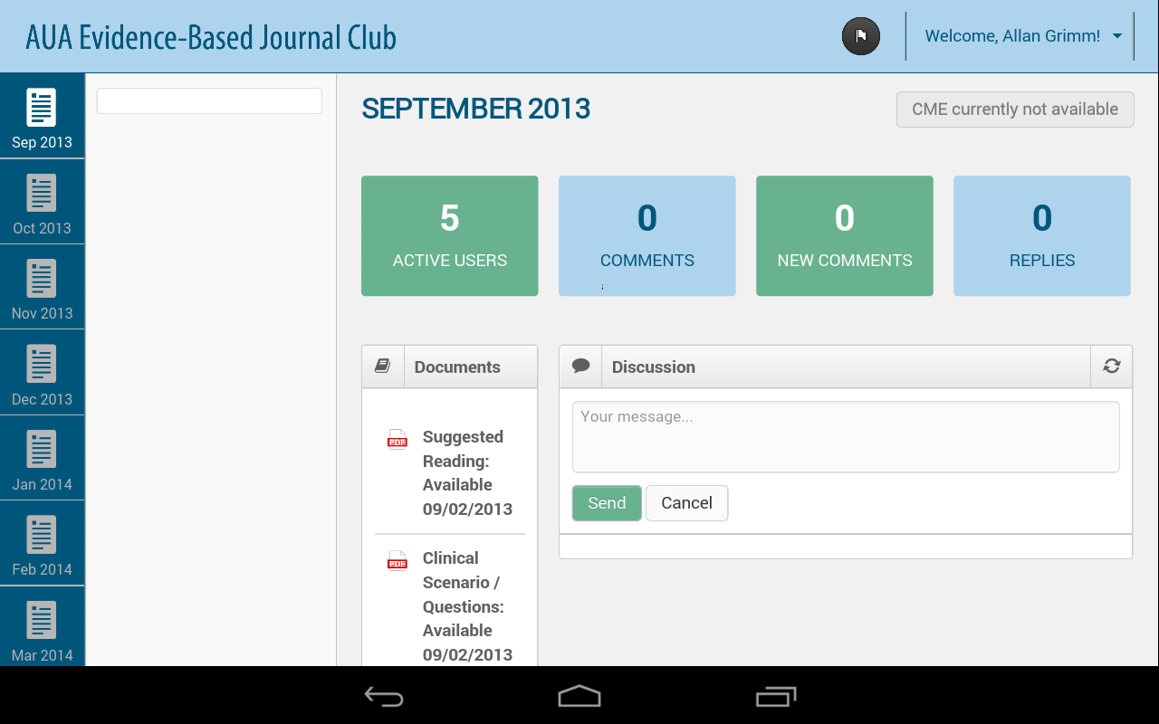 AUA EBJC - Evidence-Based JC - screenshot