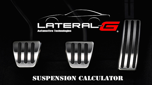 Lateral-G Suspension Calc