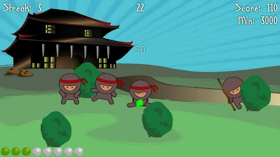 Ninja Splat- screenshot thumbnail