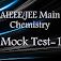 JEE Main Chemistry Mock Test-1