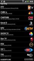 Screenshot of TV Yayın Akışı