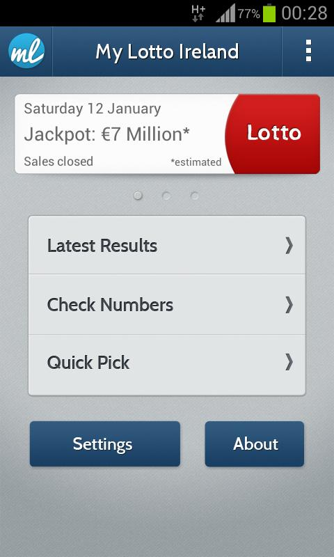 Lottery results checker irish all 3 draws