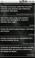 Screenshot of Frases Famosas