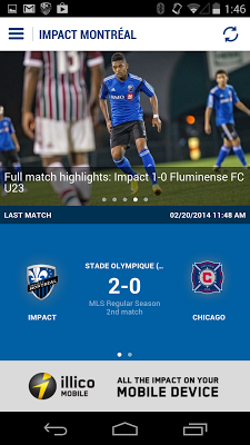 Impact Montréal - screenshot
