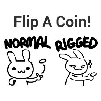Sneaky Coin Flip