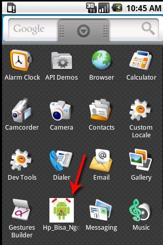 HP Bisa Ngomong - screenshot